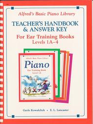 Alfred's Basic Piano Library Ear Training Teacher's Handbook and Answer Key, Book 1A-4