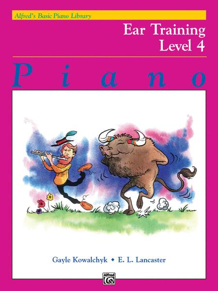 Alfred's Basic Piano Library Ear Training, Book 4