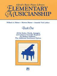 Alfred's Basic Piano Library Musicianship Book, Book 1
