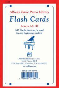 Alfred's Basic Piano Library Flash Cards, Book 1A & 1B