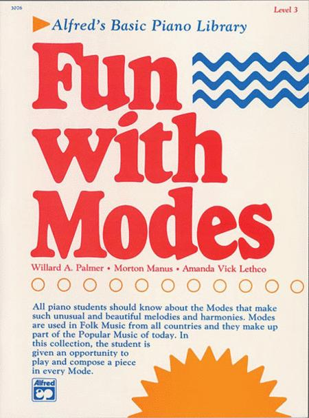 Alfred's Basic Piano Library Fun with Modes, Book 3
