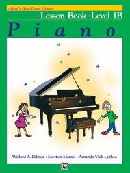 Alfred's Basic Piano Course Lesson Book, Level 1B