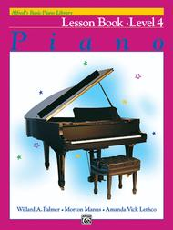 Alfred's Basic Piano Course Lesson Book, Level 4