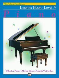 Alfred's Basic Piano Course Lesson Book, Level 5