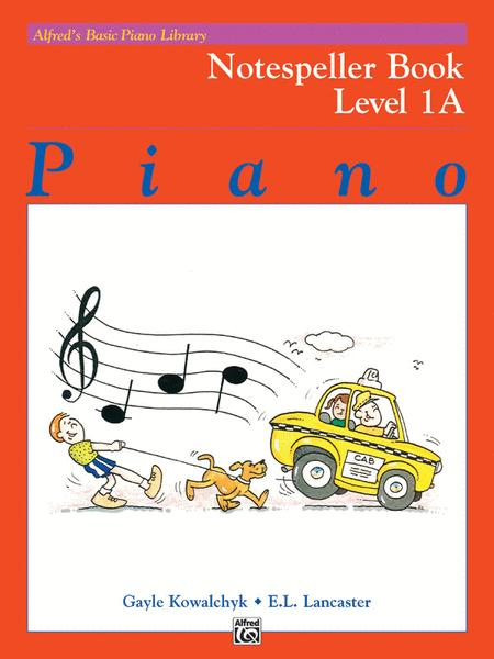 Alfred's Basic Piano Library Notespeller, Book 1A