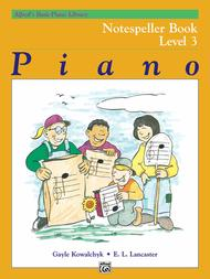 Alfred's Basic Piano Library Notespeller, Book 3