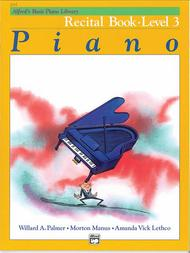 Alfred's Basic Piano Course Recital Book, Level 3