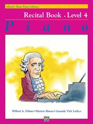 Alfred's Basic Piano Library Recital Book, Book 4