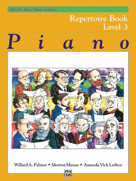 Alfred's Basic Piano Course - Repertoire, Book 3