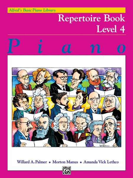 Alfred's Basic Piano Course Repertoire, Level 4