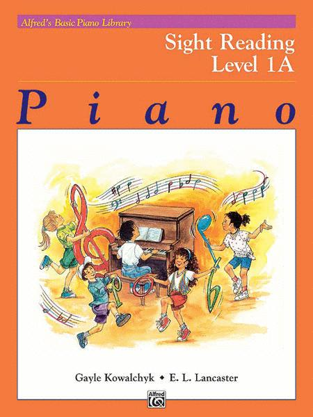 Alfred's Basic Piano Course - Sight Reading Book Level 1A
