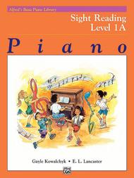 Alfred's Basic Piano Library Sight Reading, Book 1A