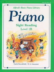 Alfred's Basic Piano Course - Sight Reading Book Level 1B