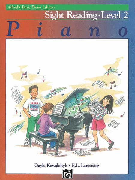 Alfred's Basic Piano Library Sight Reading, Book 2