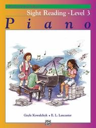 Alfred's Basic Piano Library Sight Reading, Book 3