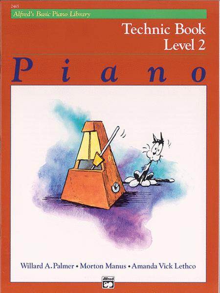 Alfred's Basic Piano Course Technic, Level 2