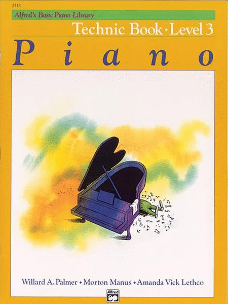 Alfred's Basic Piano Library Technic, Book 3