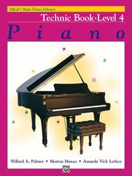 Alfred's Basic Piano Course: Technic Book 4