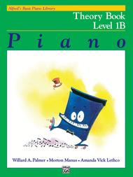 Alfred's Basic Piano Library Theory, Book 1B