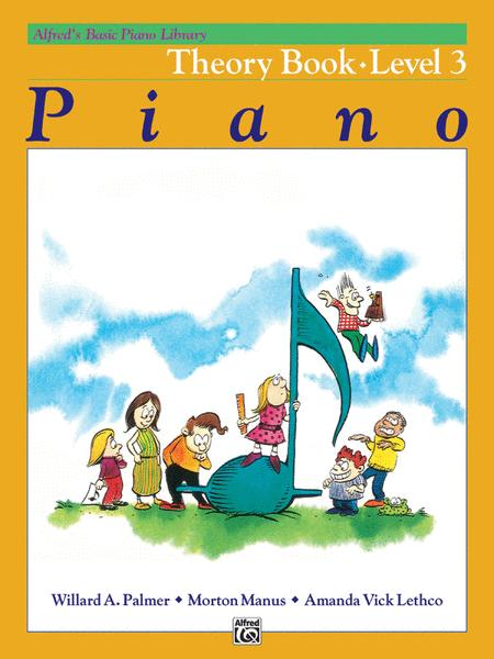 Alfred's Basic Piano Course Theory, Level 3