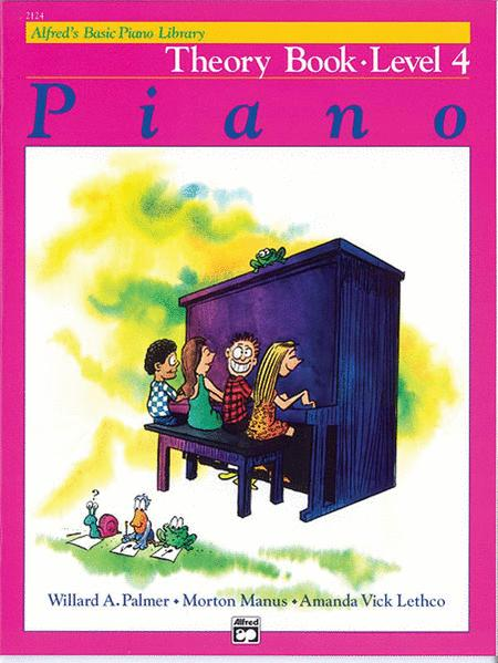 Alfred's Basic Piano Library Theory, Book 4