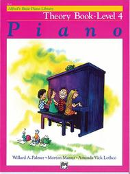 Alfred's Basic Piano Course - Theory Book (Level 4)