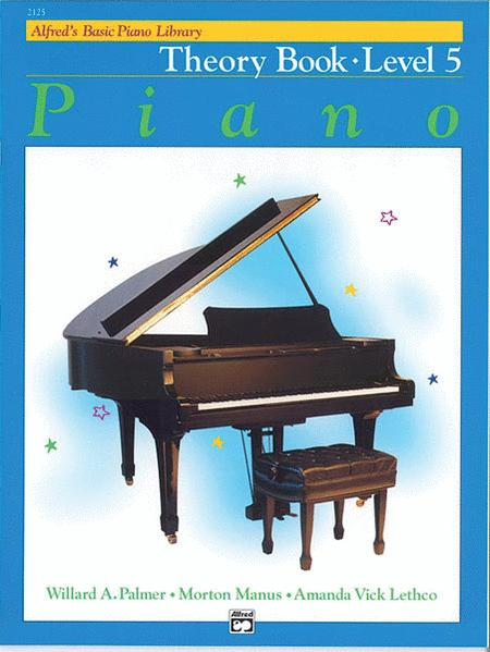 Alfred's Basic Piano Course - Theory Book (Level 5)