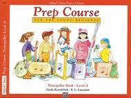 Alfred's Prep Course - Notespeller Book (Level A)