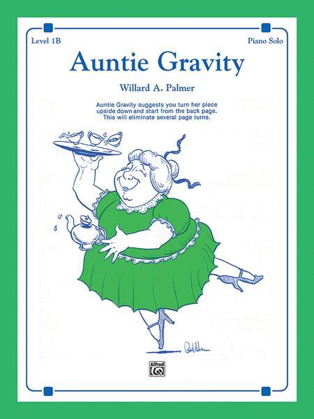 auntie gravity willard palmer piano solo sheet music