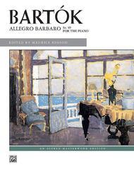 Allegro Barbaro, Sz. 49