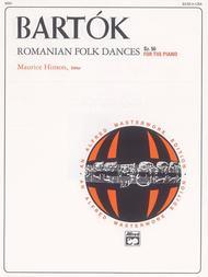 Bartok -- Romanian Folk Dances, Sz. 56 for the Piano