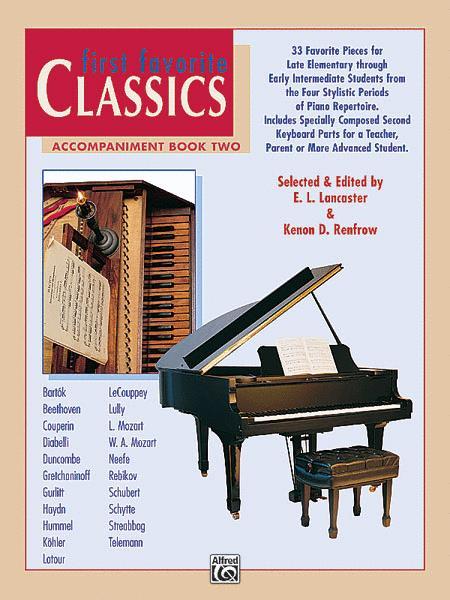 First Favorite Classics: Accompaniment, Book 2