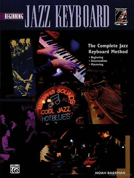 Beginning Jazz Keyboard - Book/CD