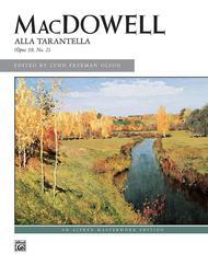 Alla Tarantella, Op. 39, No. 2