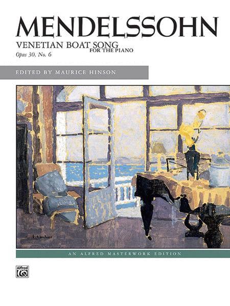 Venetian Boat Song, Op. 30, No. 6