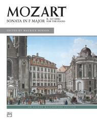 Sonata in F Major, K. 332