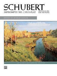 Impromptu, Op. 90, No. 2