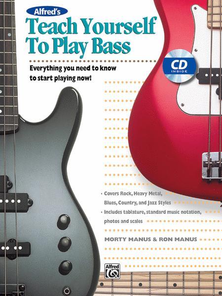 Teach Yourself To Play Bass - Book/CD