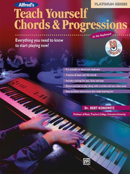 Alfred's Teach Yourself Chords & Progressions at the Keyboard - Book/CD