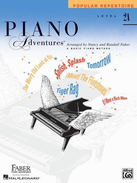 Piano Adventures Level 2A - Popular Repertoire Book