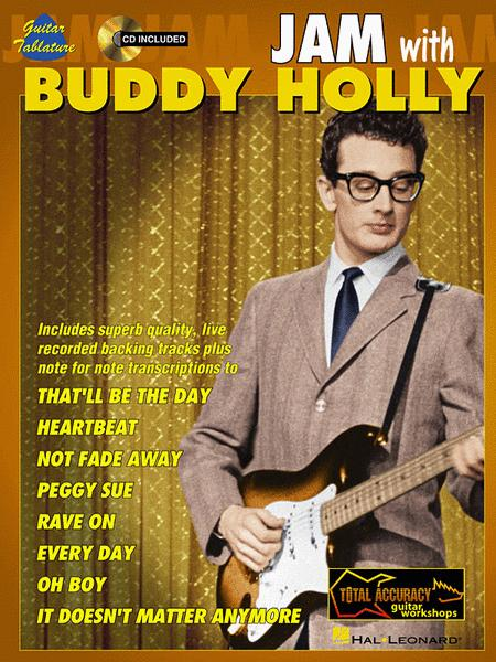 Jam With Buddy Holly - Book/CD