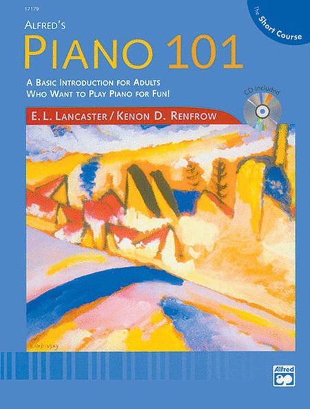 Alfred's Piano 101 The Short Course Lesson, Book 1