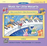 Music for Little Mozarts - CD 2-Disk Sets for Lesson and Discovery Books (Level 4)