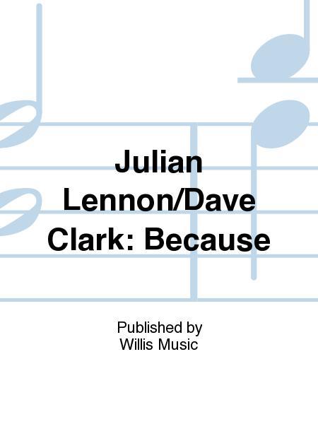 Julian Lennon/Dave Clark: Because