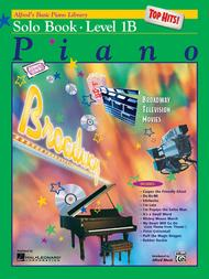 Alfred's Basic Piano Library Top Hits! Solo Book, Book 1B