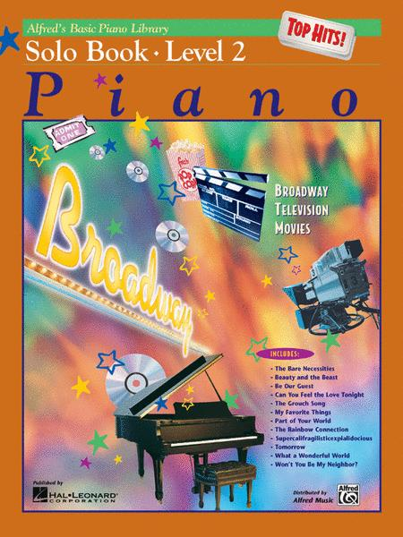 Alfred's Basic Piano Library Top Hits! Solo Book, Book 2