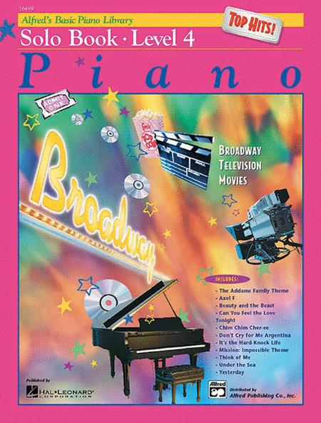Alfred's Basic Piano Library Top Hits! Solo Book, Book 4