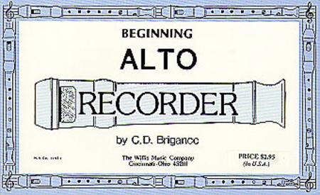 Beginning Alto Recorder