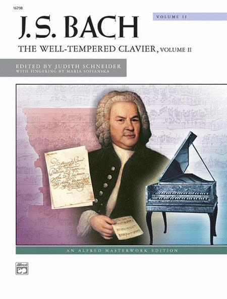 Bach -- The Well-Tempered Clavier, Volume 2