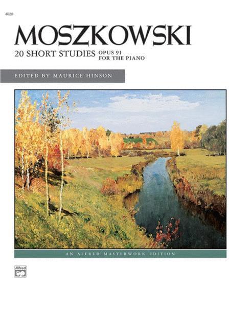 Moszkowski -- 20 Short Studies, Op. 91